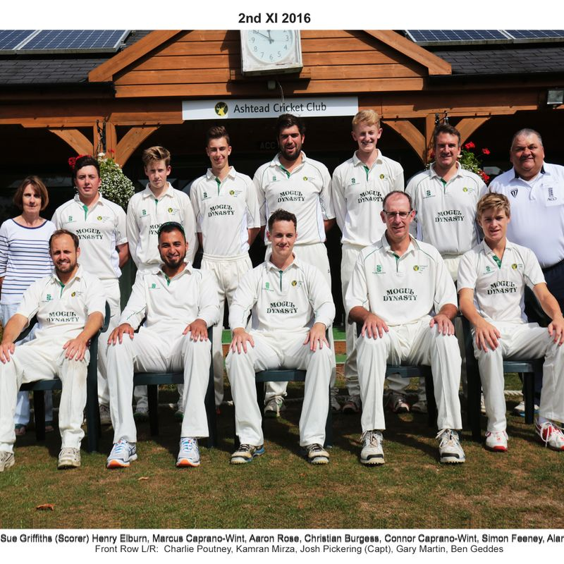 2nd XI Team Photos