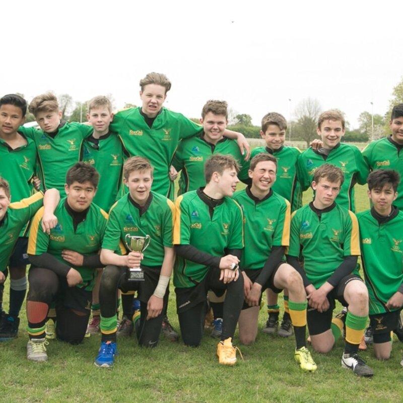 U14 beat Reading RFC 7 - 34