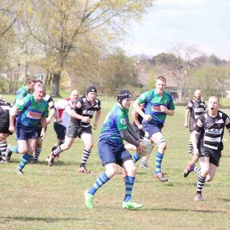 St Bernadettes Old Boys RFC vs Minehead Barbarians RFC 2016
