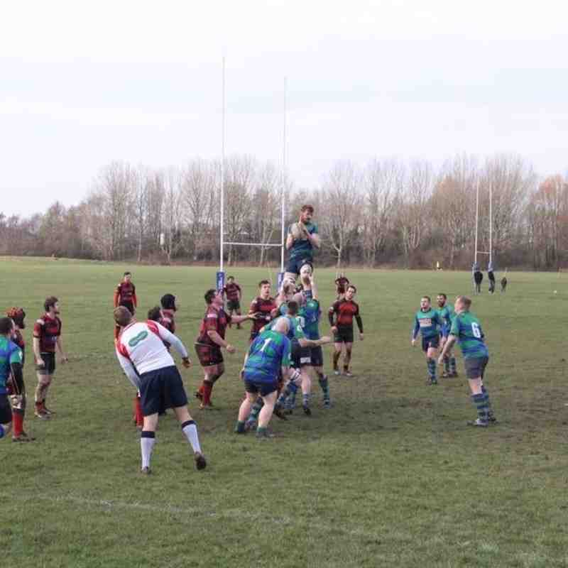 St Bernadettes Old Boys RFC vs Old Reds RFC 2016