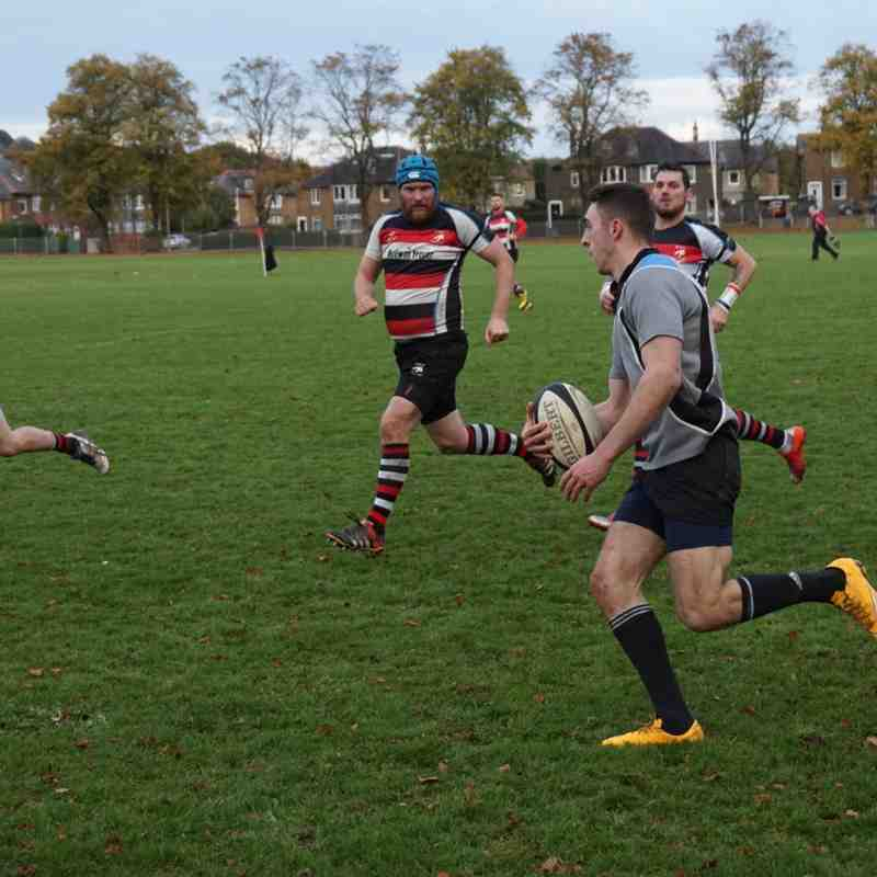 2nd XV  v Inverleith 2XV - Sat 22 Oct 2016