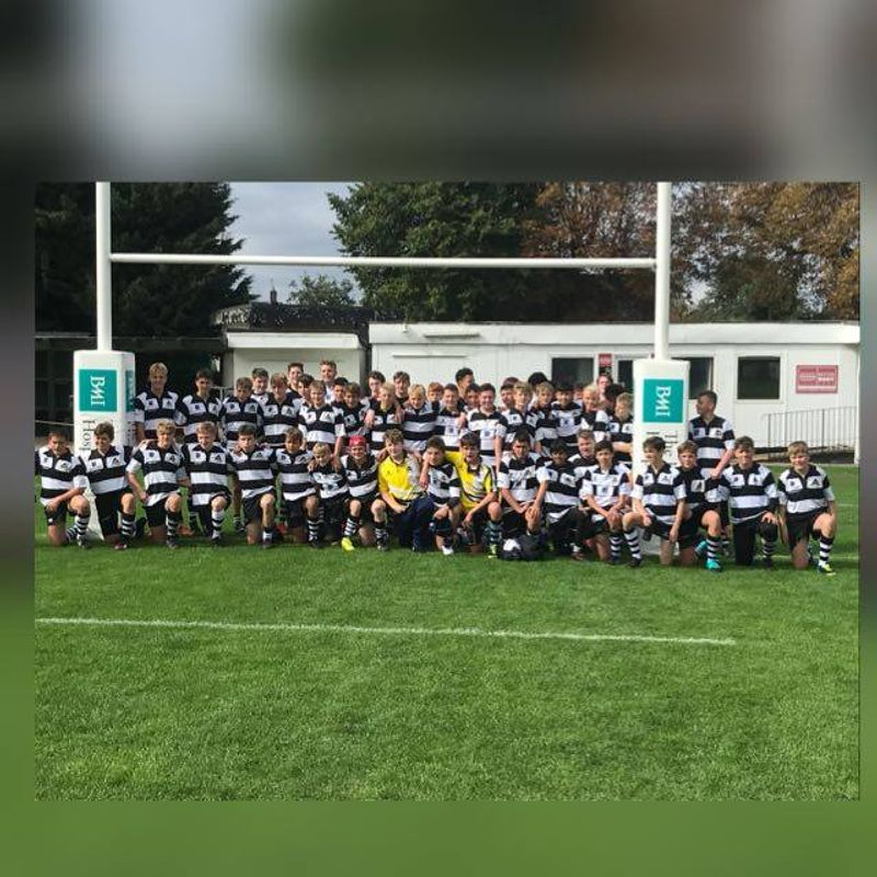 U15s beat HASELMERE R.U.F.C 12 - 64