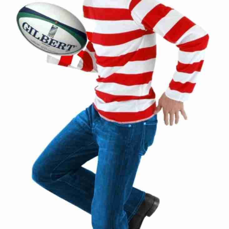 Waldo Has Joined HHIRFC, Find Waldo.