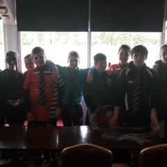 Under 14s club ties presentation 2017