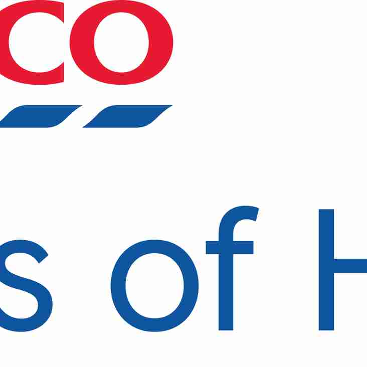Churchtown Juniors to benefit from the Tesco Bags of Help initiative
