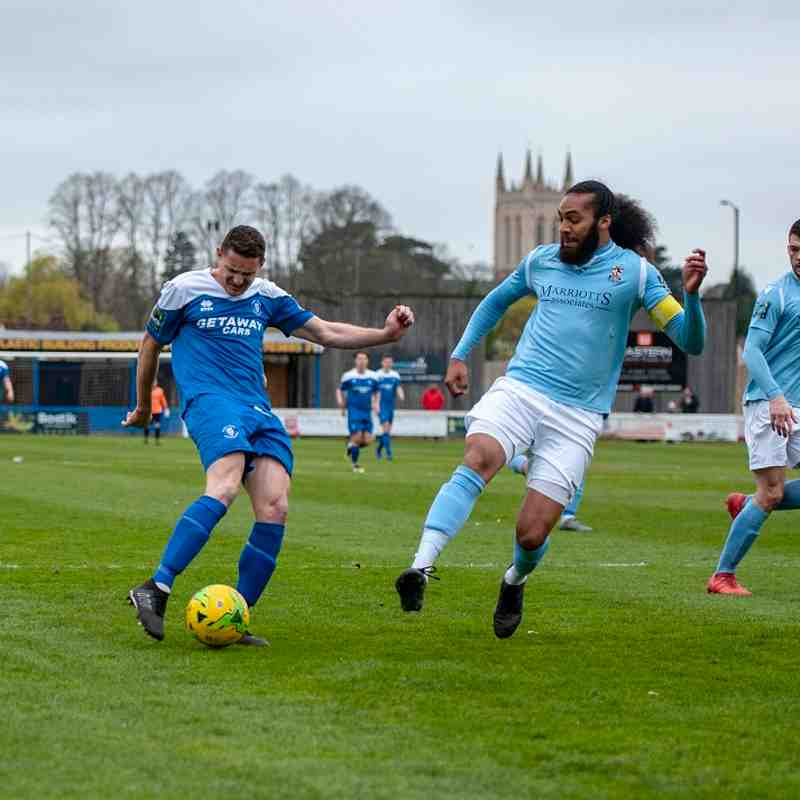 Bury Town vs Brentwood Town