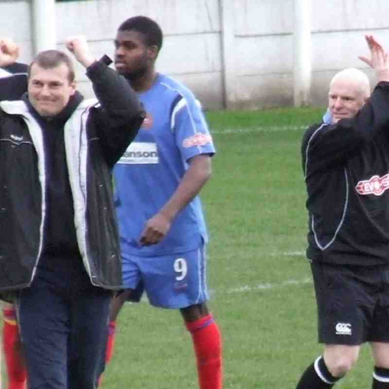 Clitheroe 2-0 Warrington Town