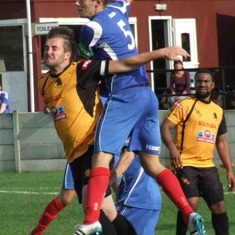 Ossett Albion 1-2 Clitheroe