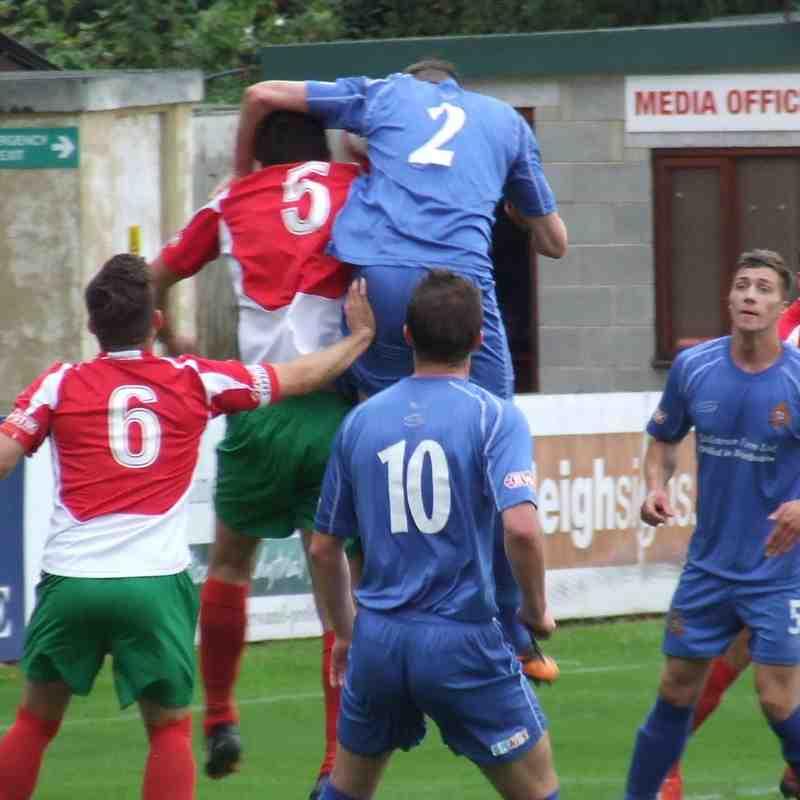 Harrogate RA 3-1 Clitheroe (FA Cup)