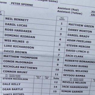 Ossett Albion 2 Clitheroe 0