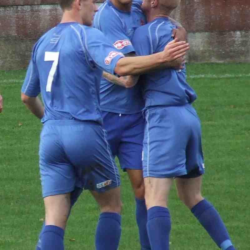 Clitheroe 3-2 Droylsden. FA Trophy 18/10/14