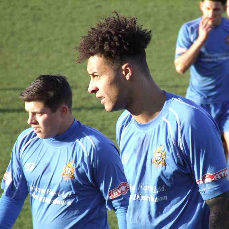 Clitheroe 1-1 Ossett Albion 31/01/2015