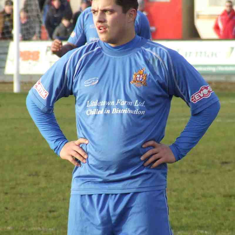 Scarborough Athletic 2-1 Clitheroe 07/02/2015