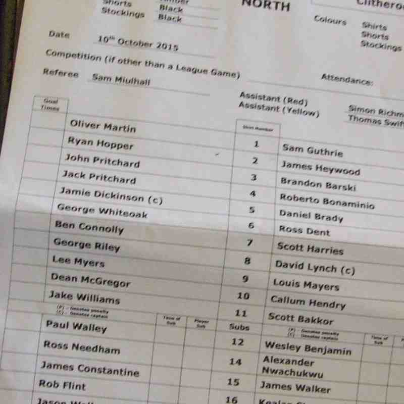 New Mills 2-3 Clitheroe 10-10-2015