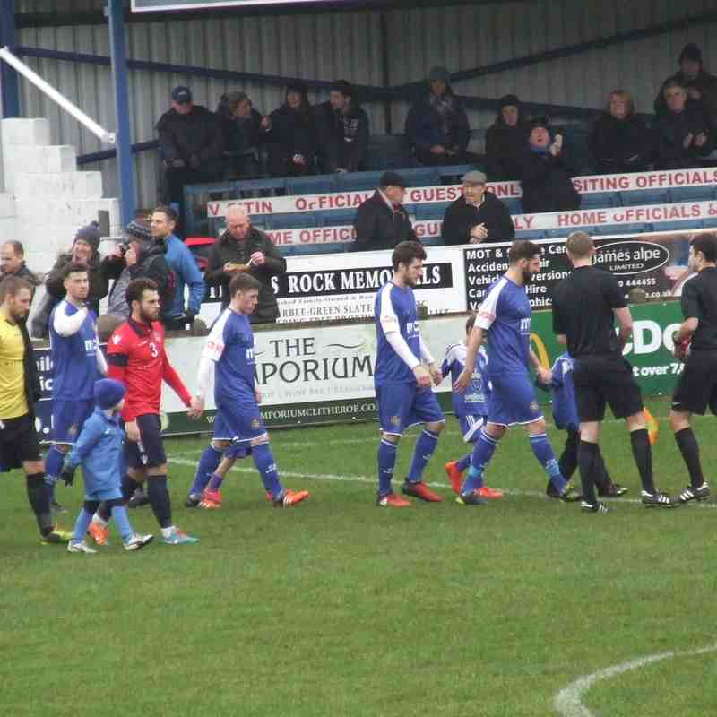 Clitheroe 2-1 Hyde United 07-01-2017