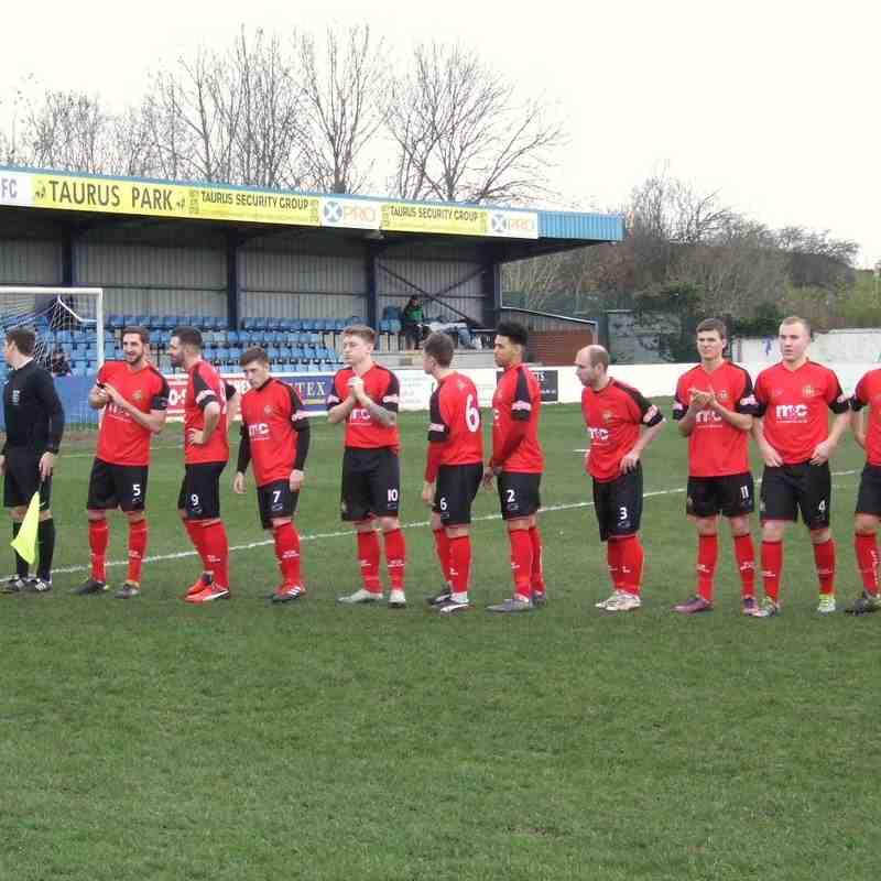 Radcliffe Borough 0-1 Clitheroe