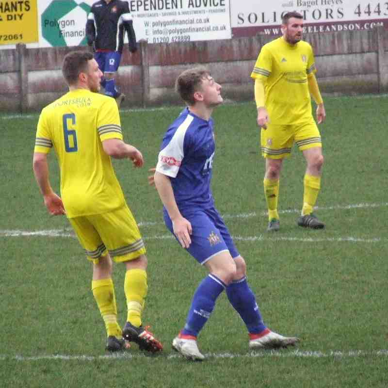 Clitheroe 1-3 Farsley Celtic 18-02-2017