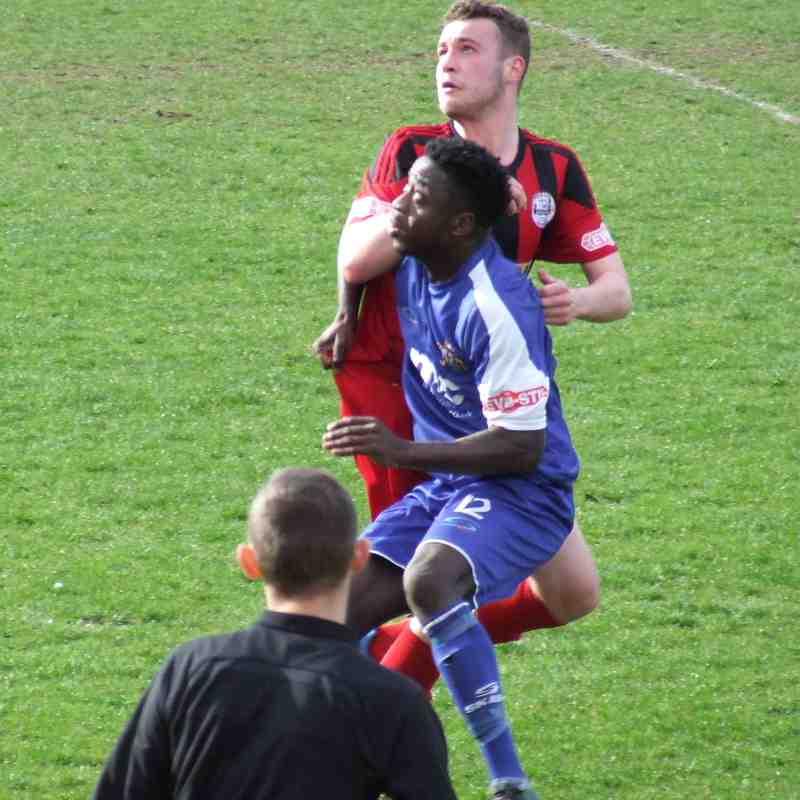 Goole  AFC 0-1 Clitheroe 01-01-2017