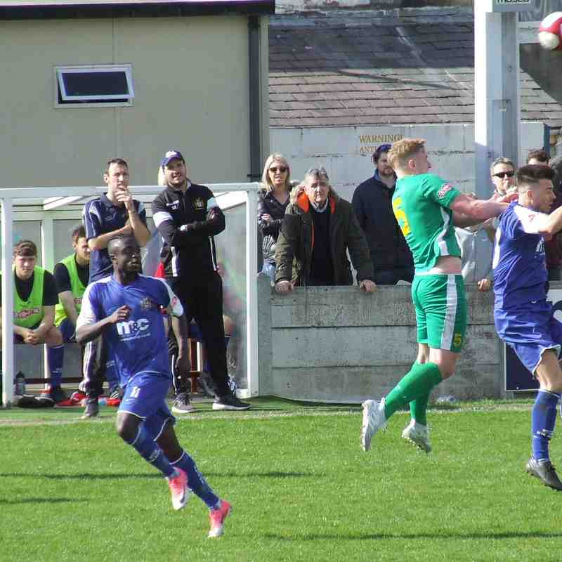 Clitheroe 3-1 Brighouse Town 22-04-2017