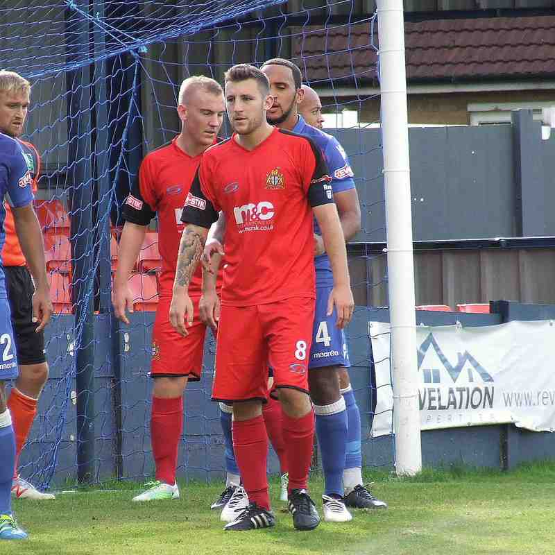 Kidsgrove 3-2 Clitheroe FA Cup 02-09-17