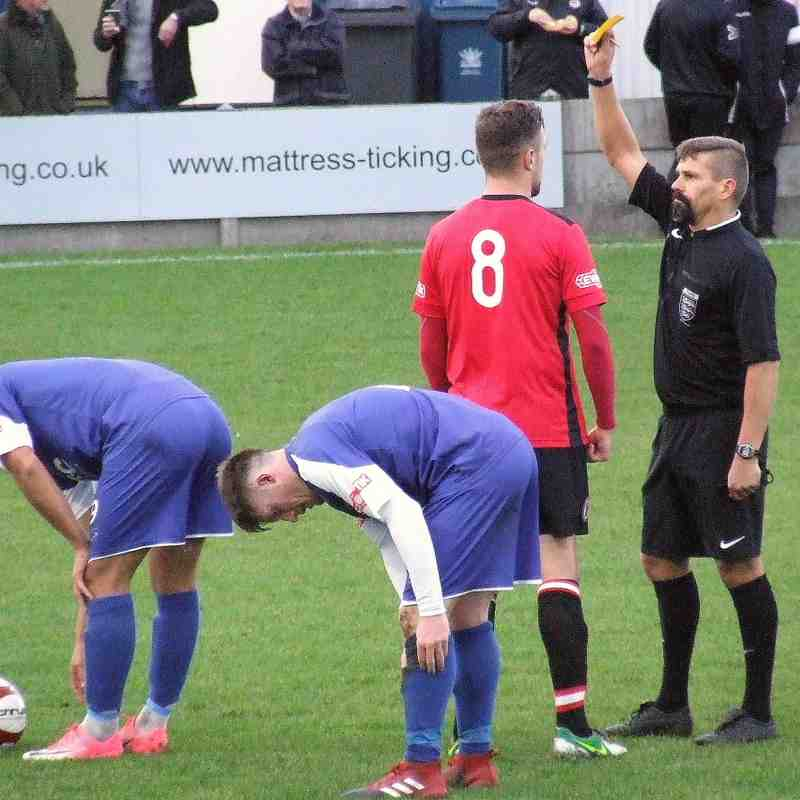 Clitheroe 2-0 Hyde United 18-11-17