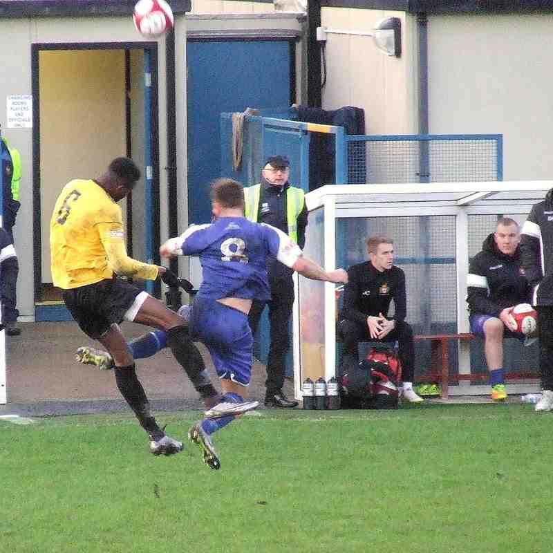 Clitheroe 4-1 Ossett Albion 25-11-2017