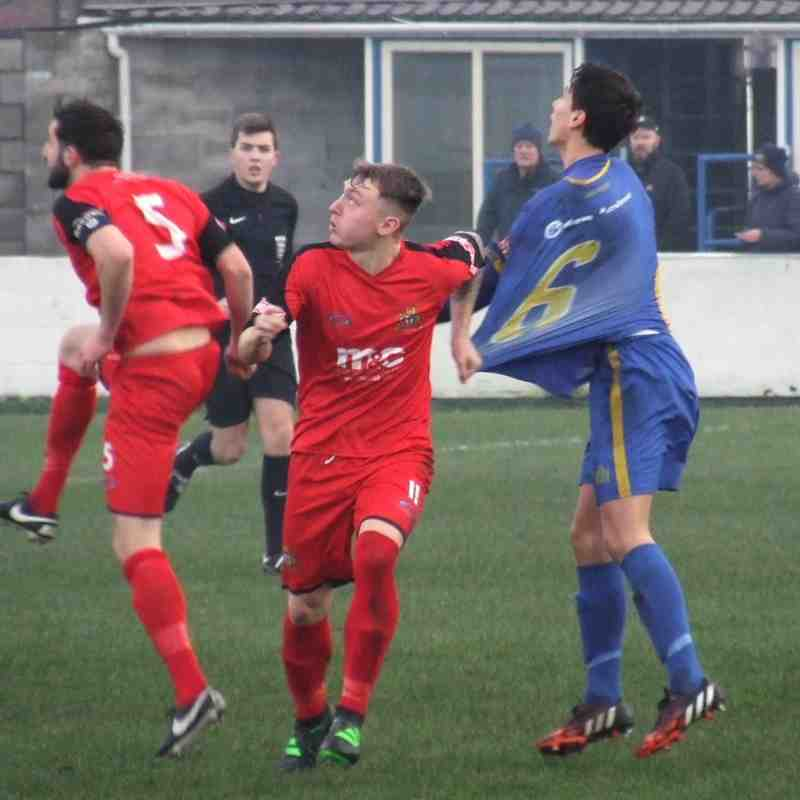 Radcliffe Borough 1-2 Clitheroe 02-12-17