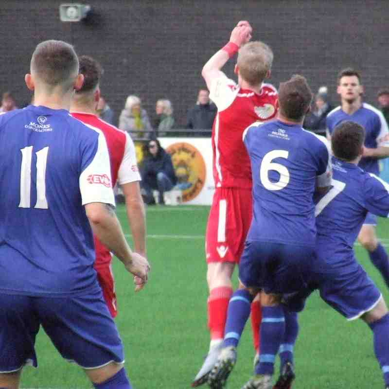 Scarborough Athletic 4-1 Clitheroe 30-12-17