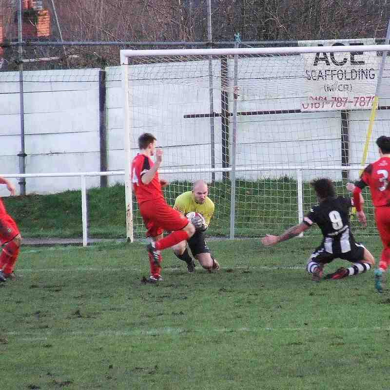 Atherton Collieries 2-5 Clitheroe