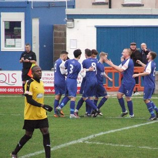 Blues fall short in fiery encounter at Shawbridge