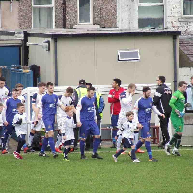 Clitheroe v Tadcaster Albion 27-01-18