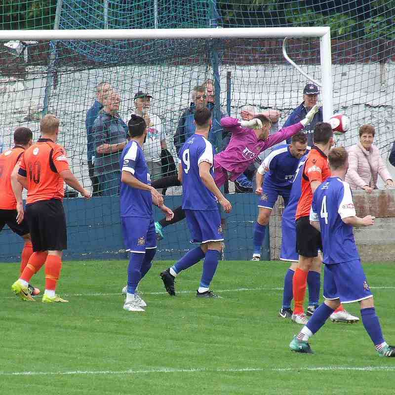 Clitheroe 0-4 Kidsgrove Athletic 18-08-18