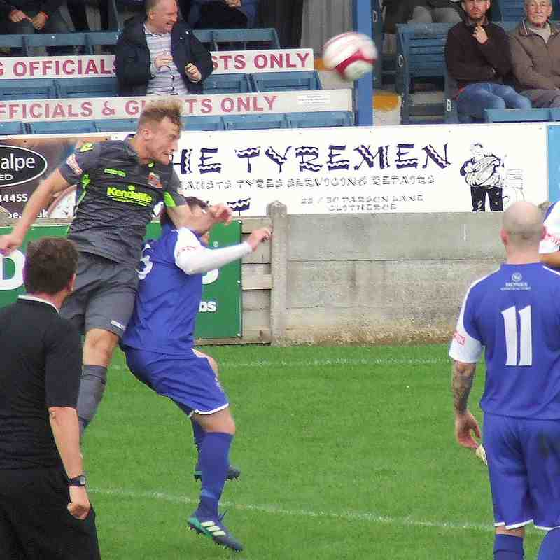 Clitheroe 1-3 Kendal Town 27-08-18