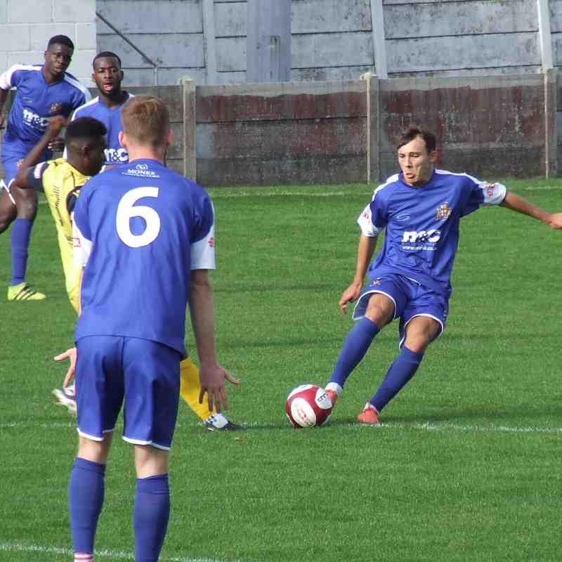 Clitheroe 1-2 Trafford 06-10-18