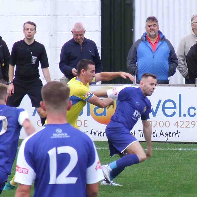 Clitheroe 1-1 Newcastle Town 20-10-18
