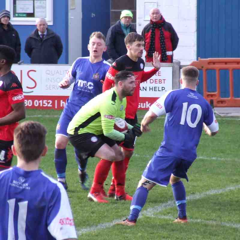Clitheroe 1-2 Ramsbottom United 09-03-19
