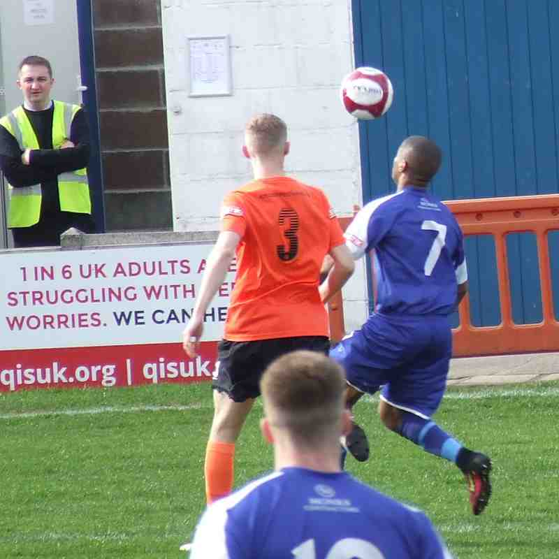 Clitheroe 2-0 Glossop North End 23-03-19