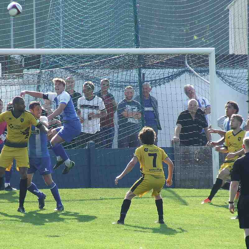 Clitheroe 0-2 Colne 26-08-19