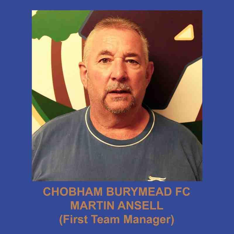 Chobham Burymead 1st Team