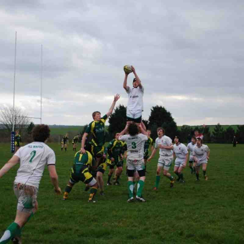 Plymstock 22 Newton Colts 29 14-01-12