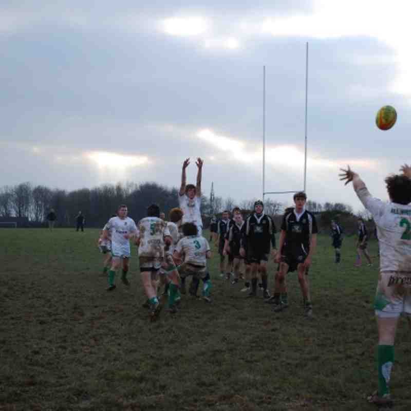Plymouth Arguam Colts v Newton Abbot Colts 11-02-12