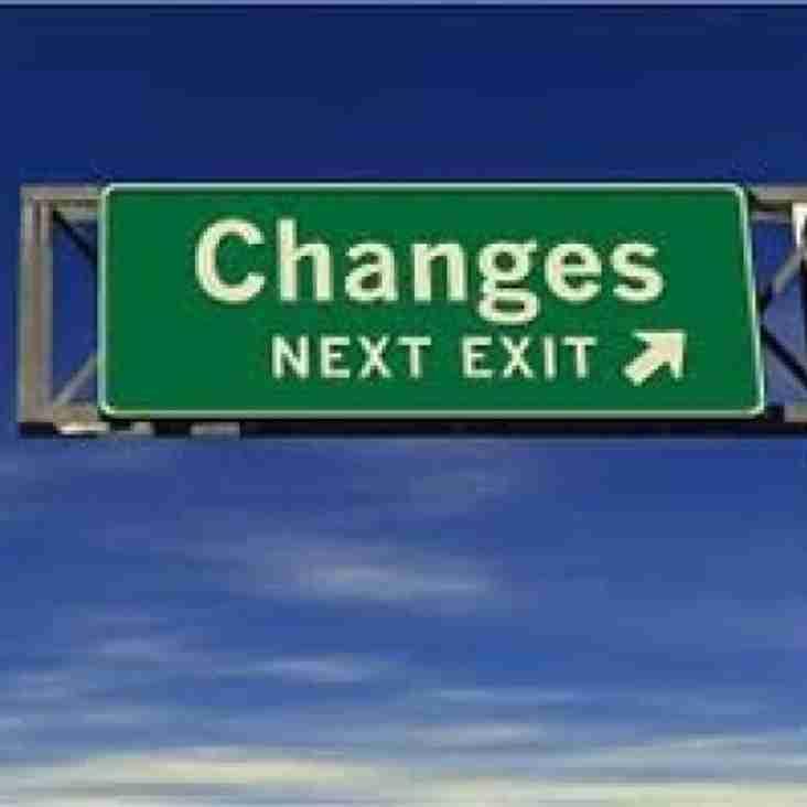 Changes to fixtures