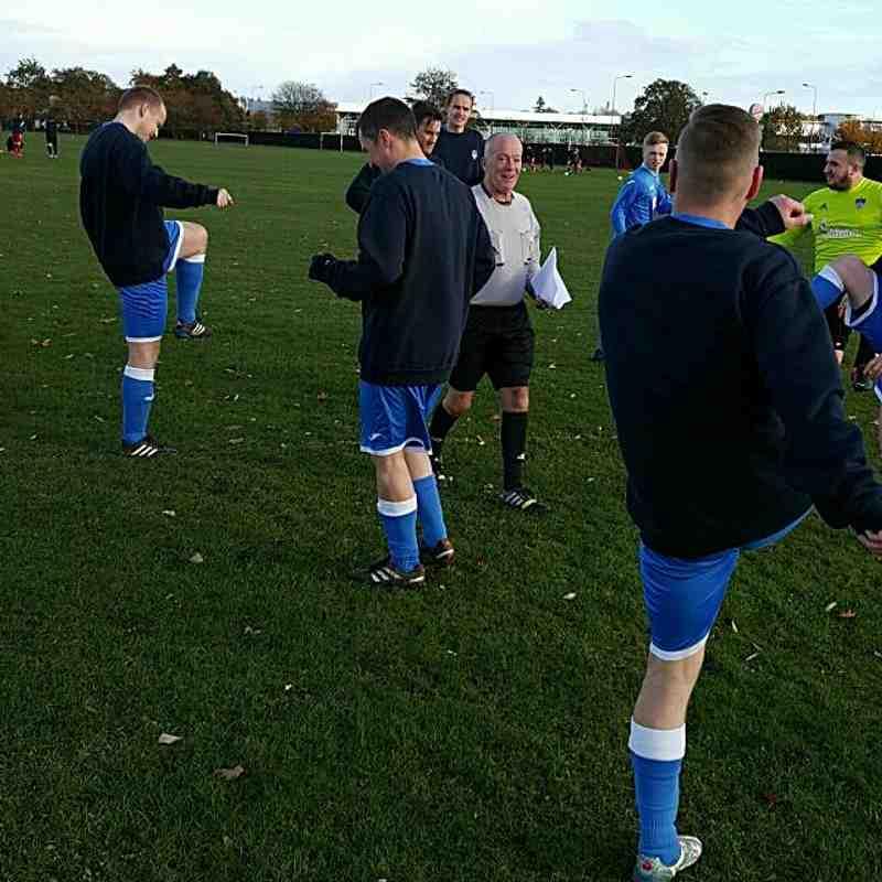 TFB XI v Menzieshill Rovers - 5 Nov 2016