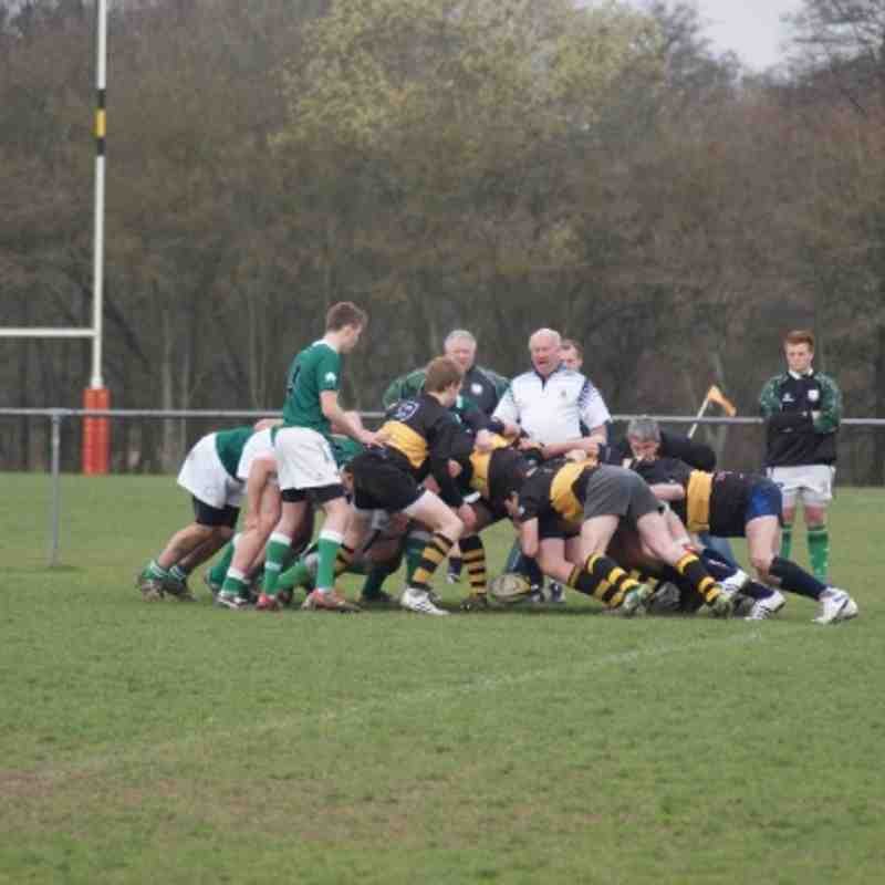Colts V London Irish 18-03-12