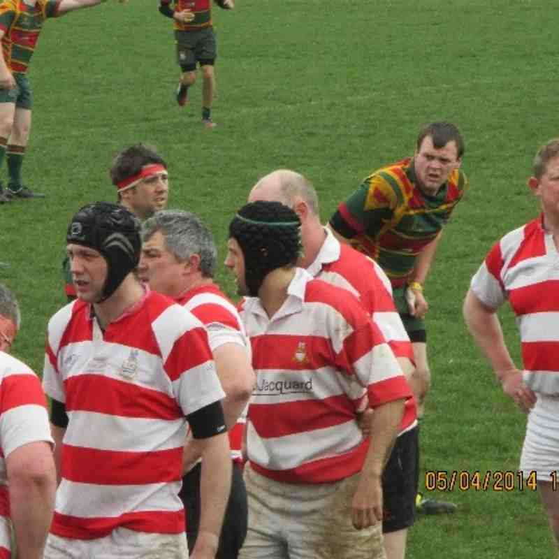 Crusaders vs Selby 4ths 31-19 VICTORY