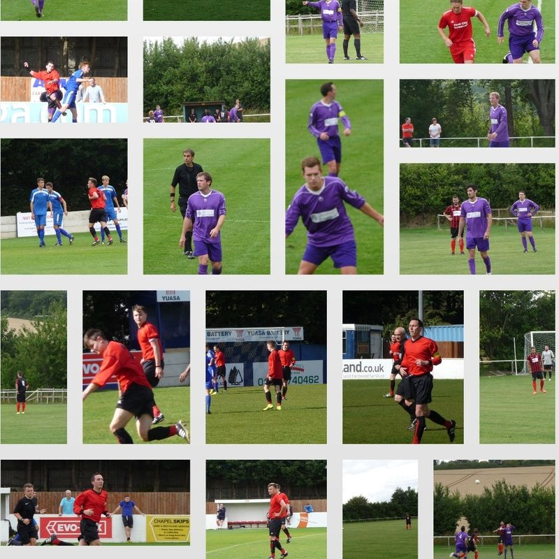 First Team beat Shortwood United Res' 3 - 2