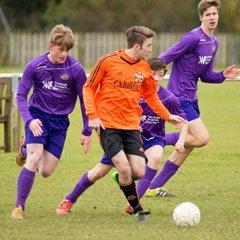 Letcombe U16s 3 Crowmarsh Youth 1 (28/2/2016)