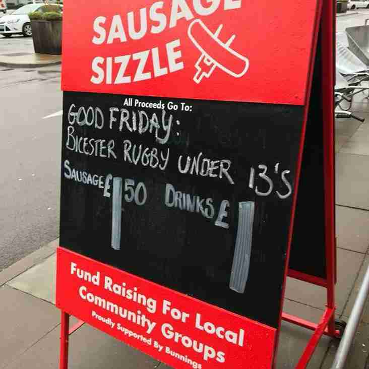 Good Friday Sausage Sizzle