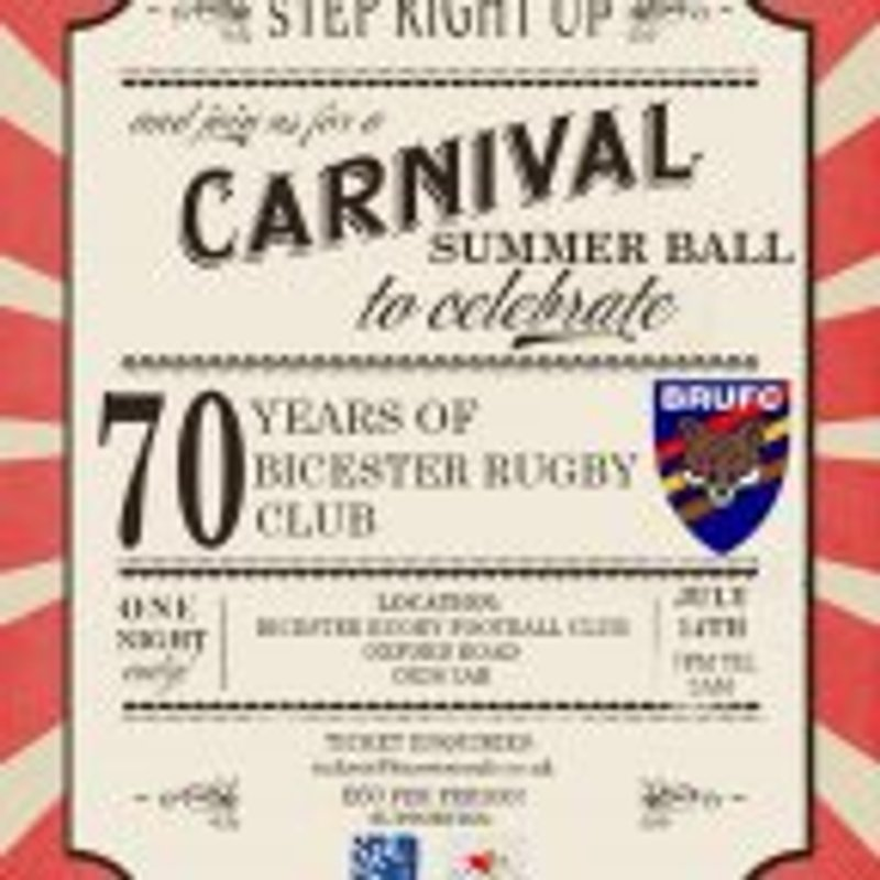 BRUFC Summer Ball - Tickets Selling Fast