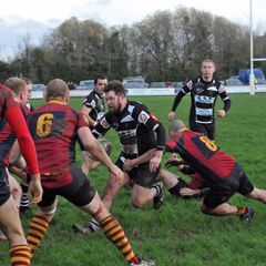 TOR 1st XV v Minehead Barbarians - 5th December 2015